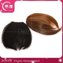 hot hair Wholesale hot selling high quality black brown color real human hair head band bang