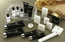 black sliver hot stamping offset printing hotel cosmetic tubes /hotel disposables & amenites
