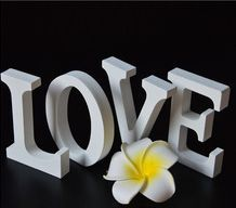 Wedding Decoration & Gift Use and Wood,solid wood or MDF Material large wooden letters