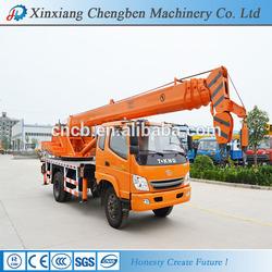 telescopic stick truck crane manufacturer