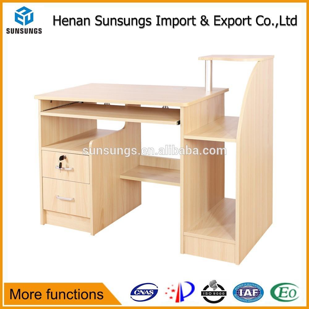 Simple Study Table : Simple design modern portable study table/computer desk parts/computer ...