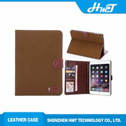 Trade Assurance 8 inch Retro wallet Leather Flip case For iPad mini 2/3
