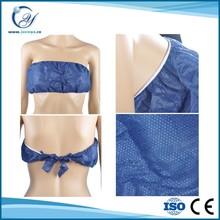 sexy Non woven Bra for women/Disposable PP Bra/SPA Bra