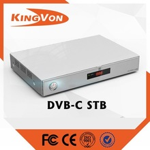 Digital DVB-C high definition set top box with VGA