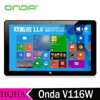Original Onda V116W Dual Boot Quad Core 2GB RAM 32GB / 64GB ROM 11.6 inch IPS 3G Phone Call Tablet PC