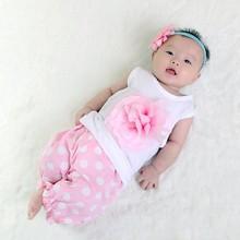 R&H summer flower print Sleeveless OEM hot selling new 2015 baby t-shirt