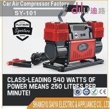 12v 250L/min Portable Air Compressor - 4x4 Car Tyre Inflator Deflator 4wd