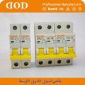 горячая продажа внутренней dz47 4 полюс mcb электрической защиты электропитания