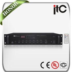 ITC T-60BU Series 60 Watt to 240 Watt Built-in Mic Input Integrated Amplifier with USB Port