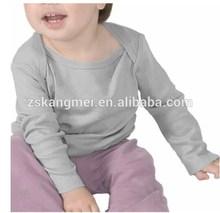 High Quality Custom Make OEM sleeve plain baby t shirt Manufacturer Guangzhou
