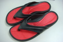 latest nice men beach summer pvc slippers