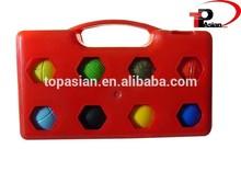 metal land ball/iron/winter half balls bocce/half land ball