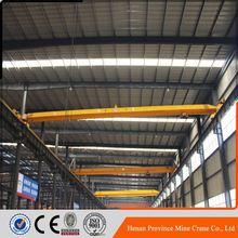 Excellent Service 10T Industrial Workshop Overhead/Bridge Crane For Low Roof Workshop