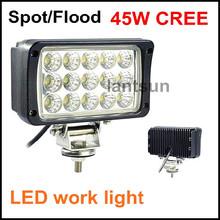 12v automotive 45w led work light auto parts car accessory with CE RoHS