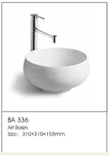 /BA336 Enamel Steel Basin Large Plastic Basin Portable Hair Washing