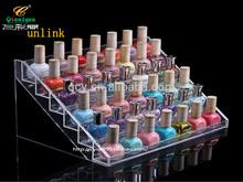 fashion modern clear acrylic neatly stash nail polish display stand