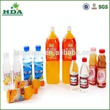 pvc bottle beverage shrink wrap sleeves/labels