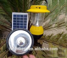 Bright lantern fashion , fashion solar lantern lamp with super bright 18pcs SMD LED and popular 1pcs SMD flashlight