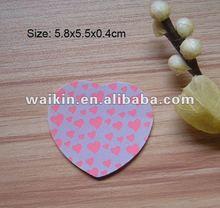 heart shape nail file