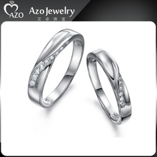 Top Quality 925 Sterling Silver Women Wedding Ring