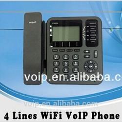 Universal remote control voip phone gateway wifi sip desk phone
