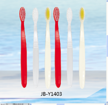 Diapopsable Hotel Toothbrush and Toothpaste in one with nylon PP handle/Travel SPA Airlplane Toothbrush