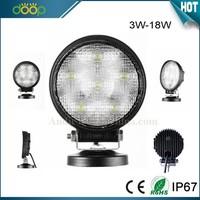 18W low defective rate led work light led construction work light