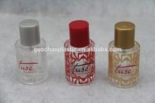 doll crystal perfume glass bottle