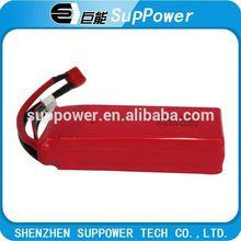 High efficiency LP5542125 5C 2250mAh lipo battery/rechargeable lipo battery pack