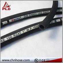 Sizes Heat Resistance single high tensile steel wire braid /hydraulic na