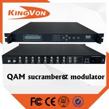 digital catv headend device rf modulator with scrambler funtion
