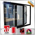 china producto resistente al impacto de vidrio de aluminio correderas y plegables puertas de armario