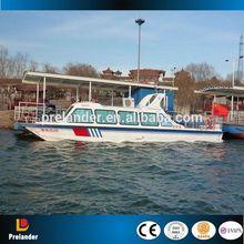 fiberglass sightseeing boat