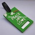 การออกแบบโลโก้ของคุณเองแท็กกระเป๋า, รูปร่างที่กำหนดเองแท็กกระเป๋าพีวีซีสำหรับเป็นของขวัญส่งเสริมการขาย, พร้อมที่จะเขียนข้อมูลเกี่ยวกับด้านหลัง