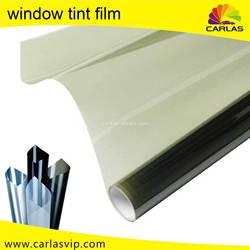 Carlas solar window tint film PET material window vinyl hot sale window protection sticker