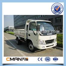 China famosa marca de kama caminhões basculantes 3.5 toneladas de capacidade com alta qualidade venda quente