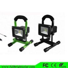 Portable LED light 10w basketball solar flood light for outdoor