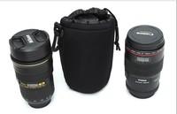 New arrival cheap dslr slr photo camera case bag for lens protecting lens ziplock bag zipper bag stand up pouch