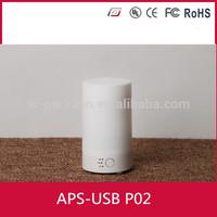 Hot sale 2015 Newdesign ultrasonic USB car/laptop aroma diffuser mini essential oil diffuser