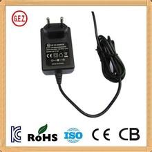 KC CB CE CCC 12v 1a portable travel adapter plug korea