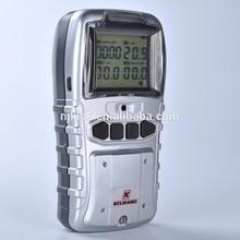 High sensitivity sensor portable handheld Multi (O2,LEL,CO,H2S )gas detector