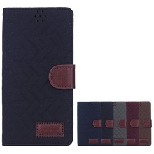 cloth pattern case with stand for galaxy Note4 cover