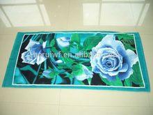 Popular Cheapest soft velvet beach towels
