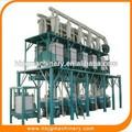 Automático de harina de trigo harina de trigo de la fresa de la planta completa en zambia