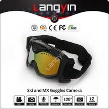 2015 Hot Seller 720P Camera Skiing Goggles Camera