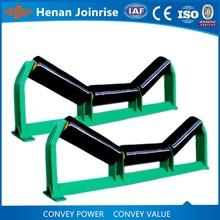 Coating conveyor idler,coating flat conveyor roller