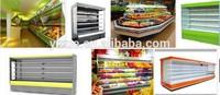 imported compressor Supermarket vegetable Coolers