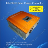 48V Solar Charger Controller, 75A Solar Power Battery Charger 48 Volt