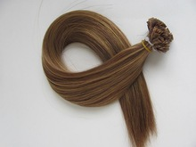double drawn remy hot fusion keratin flat tip hair extensions