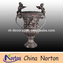 angel statue decorative garden bronze planters NTBF-FL026